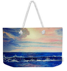 Calming Wave Weekender Tote Bag