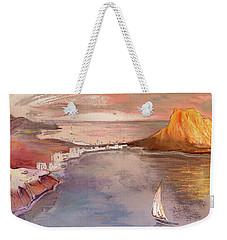 Calpe At Sunset Weekender Tote Bag