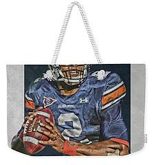 Cam Newton Auburn Tigers Art Weekender Tote Bag