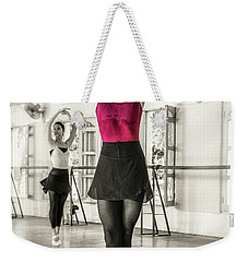 Weekender Tote Bag featuring the photograph Camaguey Ballet 1 by Lou Novick