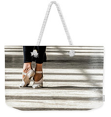 Weekender Tote Bag featuring the photograph Camaguey Ballet 2 by Lou Novick