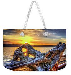 Camano Sunrise Weekender Tote Bag