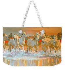 Camargue  Weekender Tote Bag by William Ireland