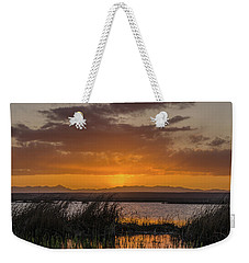 Weekender Tote Bag featuring the photograph Camas National Wildlife Refuge by Yeates Photography