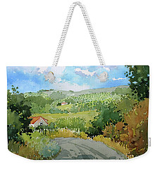 Cambria Countryside Weekender Tote Bag
