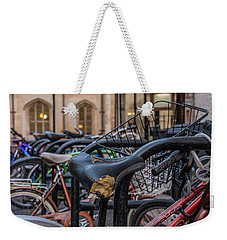 Cambridge Bikes Weekender Tote Bag by David Warrington