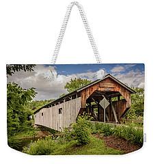 Cambridge Junction Bridge Weekender Tote Bag