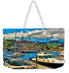 Camden Harbor Weekender Tote Bag