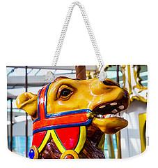 Camel Carrousel Ride Weekender Tote Bag by Garry Gay