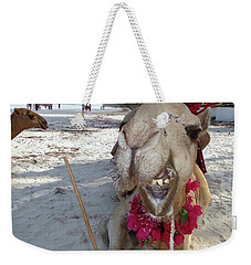Camel On Beach Kenya Wedding2 Weekender Tote Bag
