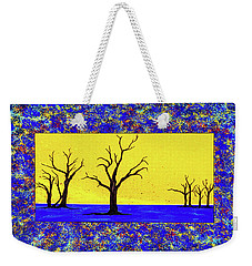 Camel Thorn Trees  Weekender Tote Bag by Ken Frischkorn