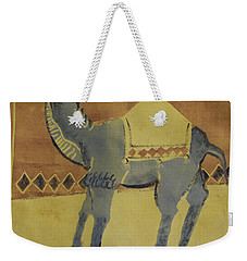 Camel With Diamonds Weekender Tote Bag