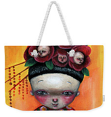 Camellia And Friends Weekender Tote Bag