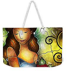 Lady Camellia Weekender Tote Bag