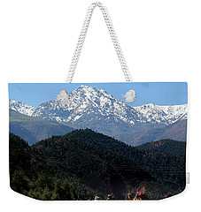 Weekender Tote Bag featuring the photograph Camels 1 by Andrew Fare