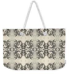 Cameo Mirror Image Weekender Tote Bag