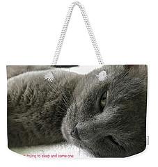 Resting Face Weekender Tote Bag