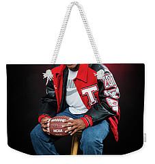 Cameron 017 Weekender Tote Bag by M K  Miller
