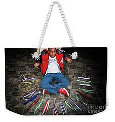 Cameron 019 Weekender Tote Bag by M K  Miller