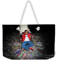Cameron 020 Weekender Tote Bag by M K  Miller