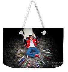 Cameron 021 Weekender Tote Bag by M K  Miller