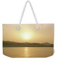 Cameroon Sunrise Africa Weekender Tote Bag