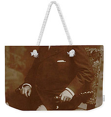 Weekender Tote Bag featuring the painting Camille Saint-saens  by Artistic Panda