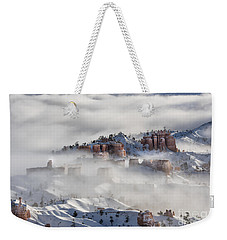 Weekender Tote Bag featuring the photograph Camouflage - Bryce Canyon, Utah by Sandra Bronstein