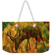 Camouflage Deer Weekender Tote Bag