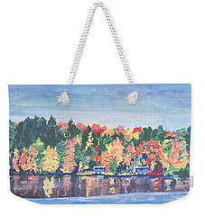 Camp Archbald At Ely Lake Weekender Tote Bag