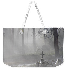 Camp Cross Weekender Tote Bag