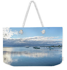 Camp Ellis Sunrise Weekender Tote Bag by David Bishop
