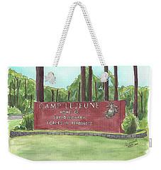 Camp Lejeune Welcome Weekender Tote Bag