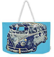 Camper Van Waves Weekender Tote Bag