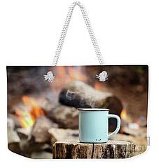 Campfire Coffee Weekender Tote Bag by Stephanie Frey