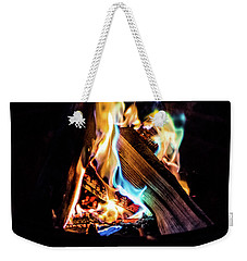 Campfire In July Weekender Tote Bag