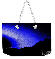 Camping Blues Weekender Tote Bag