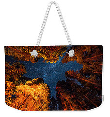 Camping Under The Stars  Weekender Tote Bag by Alpha Wanderlust