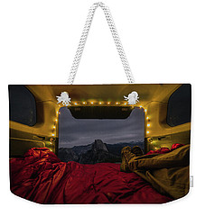 Camping Views Weekender Tote Bag by Alpha Wanderlust