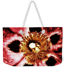 Weekender Tote Bag featuring the photograph Can You Guess What Flower? Hints: It's by Mr Photojimsf