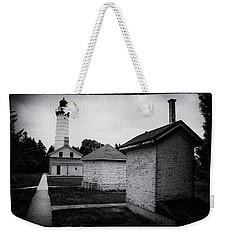 Weekender Tote Bag featuring the photograph Cana Island Retro by Janice Adomeit