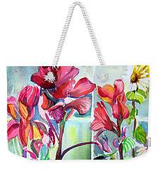 Cana Lily And Daisy Weekender Tote Bag