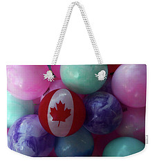 Canada Day Weekender Tote Bag by David Pantuso