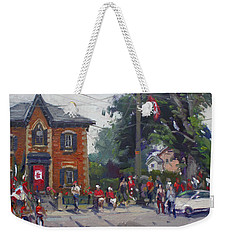 Canada Day Parade At Glen Williams  On Weekender Tote Bag