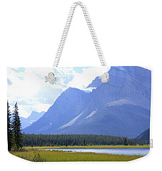 Canadian Mountains Weekender Tote Bag by Catherine Alfidi