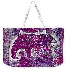 Canadian Bears Pink  Weekender Tote Bag
