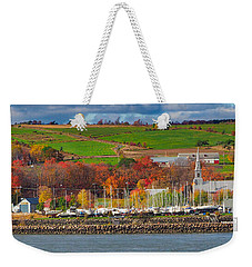 Canadian Colors Weekender Tote Bag