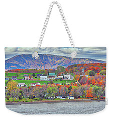 Canadian Fall Foliage Weekender Tote Bag
