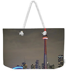 Canadian Landmark Weekender Tote Bag