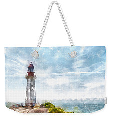 Canadian Lighthouse Weekender Tote Bag by Shirley Stalter